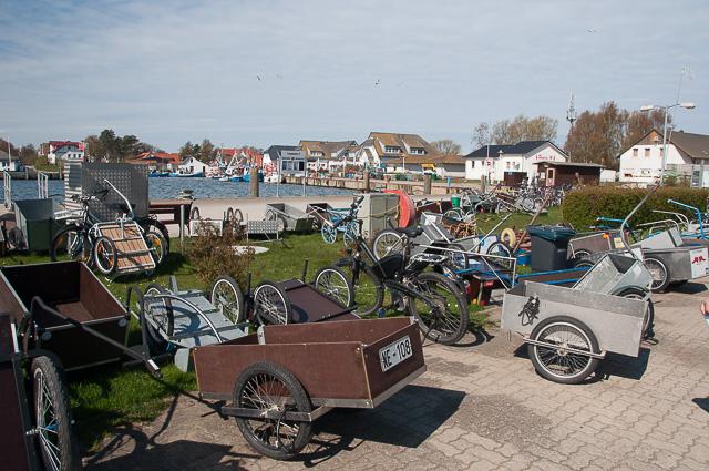 Transportkarren auf Hiddensee