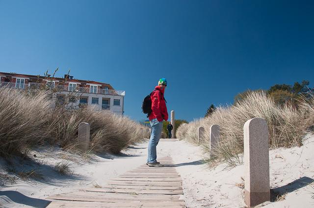 Am Strand der Schaabe