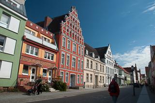 Kaufmannshäuser in Greifswald