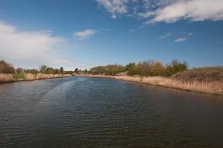 Fluss Ryck bei Greifswald