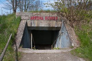 Bunkereingang am Kap